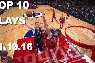 Top 10 NBA: Violents posters, superbes caviars et actions clutchs
