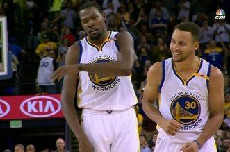 Vidéo: le 13ème shoot à trois points synonyme de record NBA pour Stephen Curry