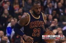 Cleveland conserve sa place de leader à l'Est avec un gros Big 3 à Toronto