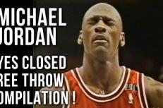 Compilation: Les lancers francs tentés les yeux fermés par Michael Jordan
