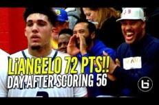 High School: 24h après avoir mis 56 points, Li'Angelo Ball en plante 72 !
