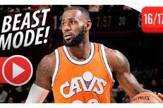 [Highlights] LeBron James en feu contre les Hornets : 44 pts, 9 rebs, 10 pds