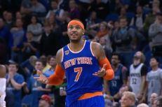 Le game winner de Carmelo Anthony à Minnesota