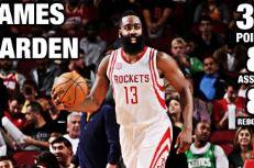 Les highlights de James Harden face aux Celtics: 37 points, 8 rebonds et 8 passes