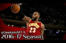 Les highlights de LeBron James (25 pts, 7 asts) et Kyrie Irving (28 pts, 6 asts) face aux Knicks