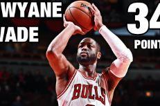 Les highlights du duel Dwyane Wade (34 pts) – Damian Lillard (30 pts)