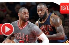 Les highlights du duel Dwyane Wade (24 pts) – LeBron James (27 pts, 13 pds)