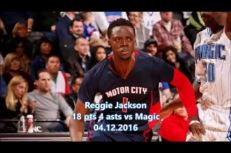 Reggie Jackson: «Je me suis senti bien»