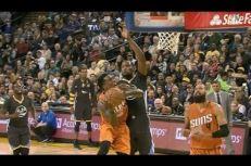 Sans pitié: Kevin Durant enterre Eric Bledsoe, Stephen Curry sanctionne dans la foulée