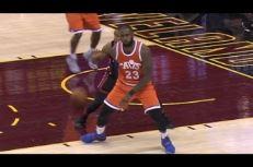 Sublime passe aveugle pour LeBron James; Gros dunk reverse ligne de fond pour Iman Shumpert