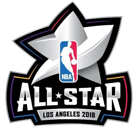 la nba d voile le logo pour le all star game 2018 de los angeles. Black Bedroom Furniture Sets. Home Design Ideas
