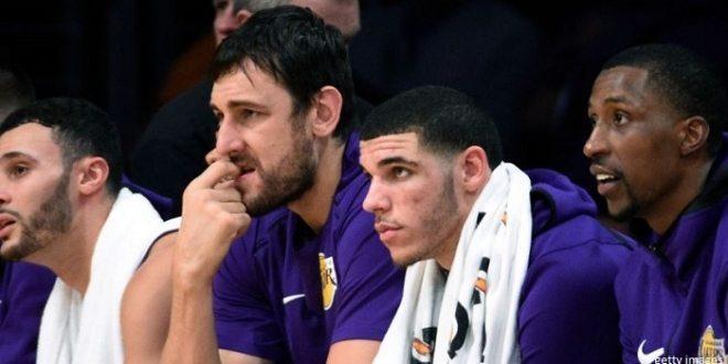 Les Lakers coupent Andrew Bogut !Andrew Bogut - Los Angeles Lakers