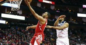 Les Rockets retrouvent James Harden et des couleurs pour maîtriser les Wolves