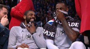 LeBron James sur les retrouvailles avec Kyrie Irving : «C'était phénoménal»