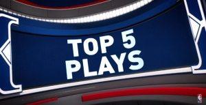 NBA Top 5 : James Harden martyrise le cercle; Kevin Durant se venge après avoir été bâché sur la première action